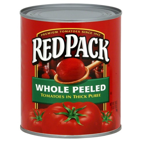 Red Pack Canned Whole Peeled Tomatoes 28 oz - image 1 of 1