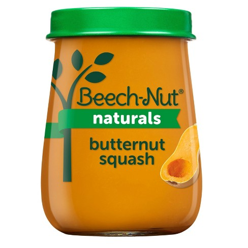 Beech-Nut Naturals Butternut Squash Baby Food Jar - 4oz - image 1 of 4