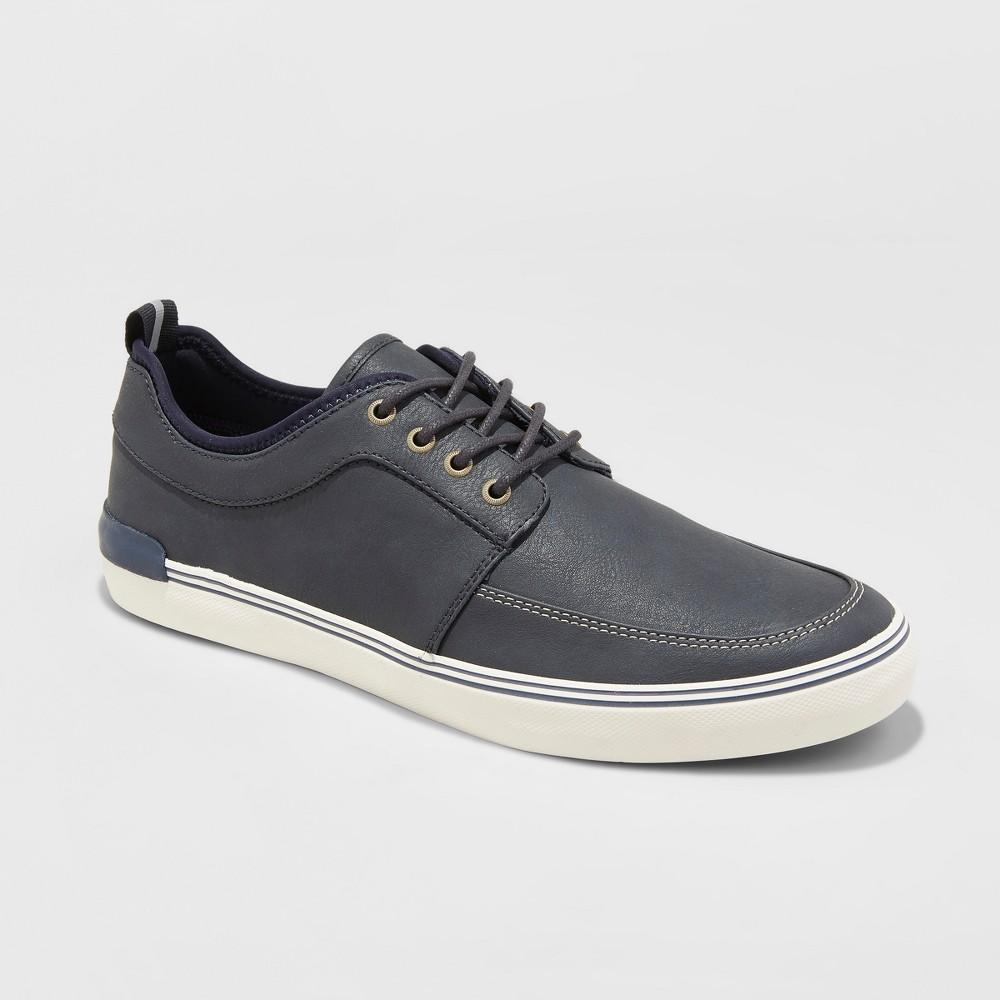Men's Bernie Casual Boat Sneakers - Goodfellow & Co Navy 12, Blue