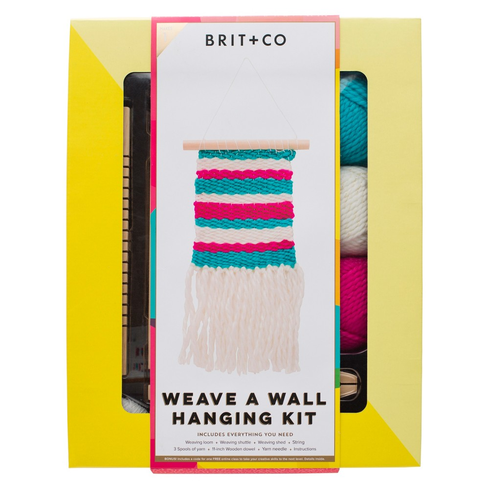 Brit + Co Weave a Wall Hanging Kit