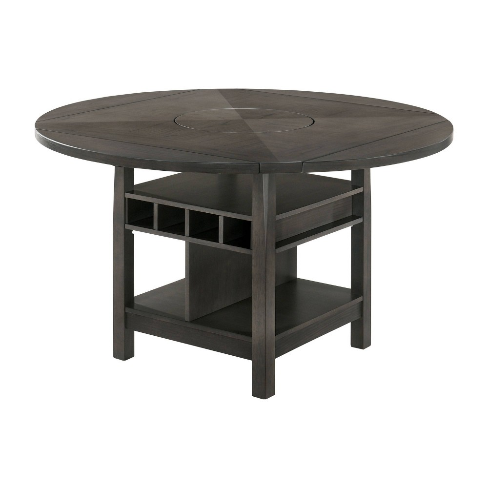 """Top 60"""" Summerland Round Counter Height Dining Table  - HOMES: Inside + Out"""