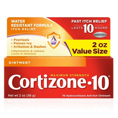 Cortizone 10 Anti-Itch Ointment - 2oz