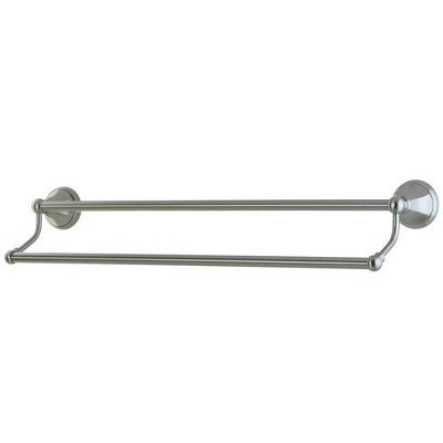 "24"" Dual Towel Bar Satin Nickel - Kingston Brass"