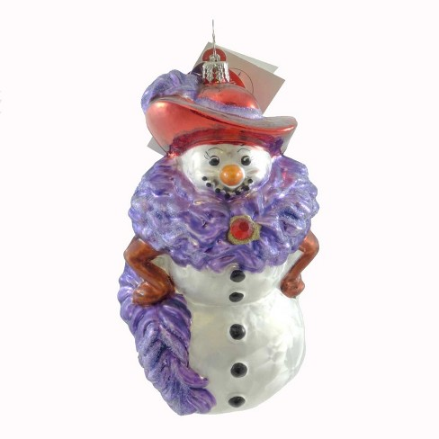 Christopher Radko Chilly Millie Ornament Red Hat Society - image 1 of 2