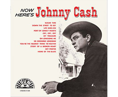 Johnny cash - Now here's johnny (Vinyl) - image 1 of 1