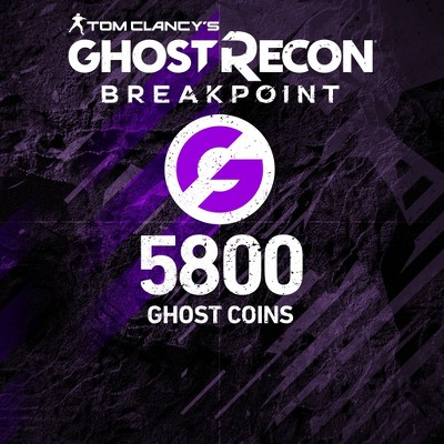 Tom Clancy's Ghost Recon: Breakpoint 5800 Ghost Coins - PlayStation 4 (Digital)