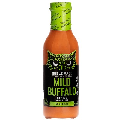 Noble Made by The New Primal Mild Buffalo Sauce - 12oz