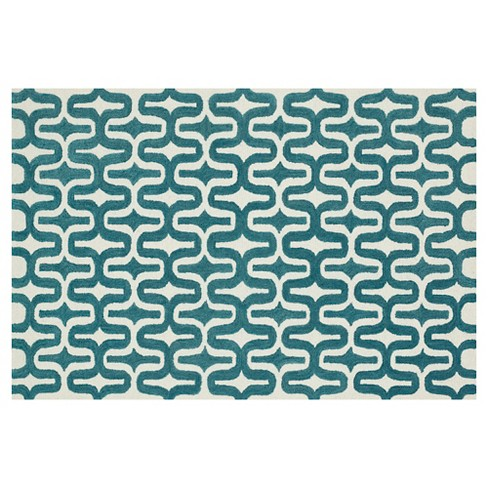 "Loloi Weston Accent Rug - Teal (2'3""X3'9"") - image 1 of 3"