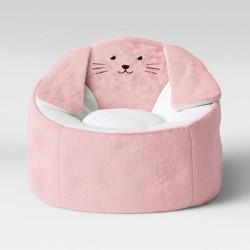Kids' Character Bean Bag Chair Bunny Pink - Pillowfort™