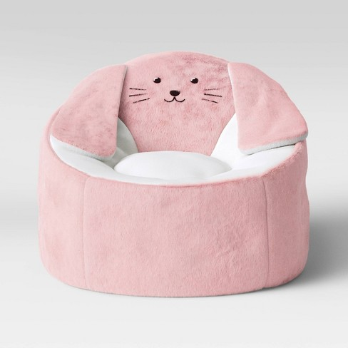 Outstanding Kids Character Bean Bag Chair Bunny Pink Pillowfort Creativecarmelina Interior Chair Design Creativecarmelinacom