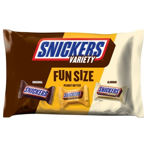Snickers Fun Size Chocolate Bars Variety Pack 1036oz