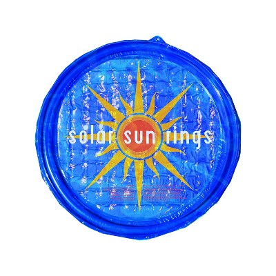 Solar Sun Rings UV Resistant Above Ground Inground Swimming Pool Hot Tub Spa Heating Accessory Circular Heater Solar Cover, SSRA, Sunburst