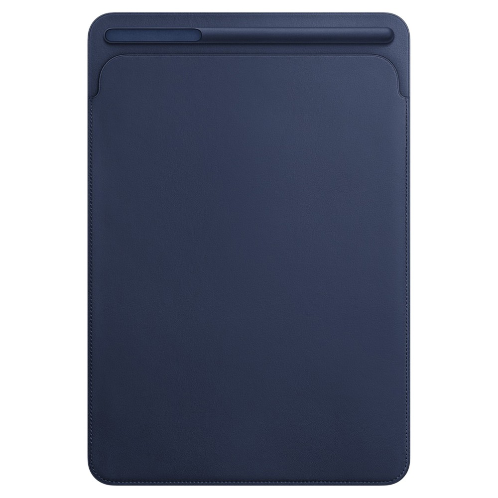 Apple Leather Sleeve For 10 5 34 Ipad Pro Midnight Blue