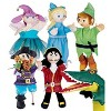 Six Puppets plus Doorway Theater Special for Kids Pretend Play - HearthSong - image 2 of 2