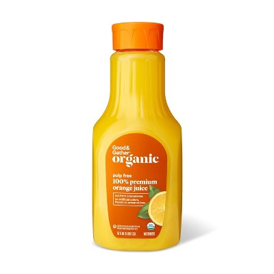 Organic 100% Orange Juice Not From Concentrate - 52 fl oz - Good & Gather™