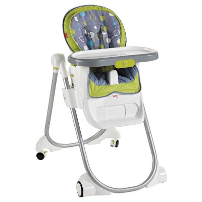 Fisher-Price 4-in-1 Total Clean High Chair - Green