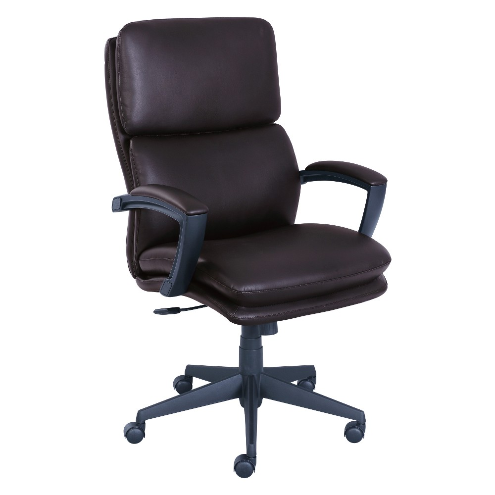 Style Morgan Office Chair Old Chestnut (Brown) - Serta