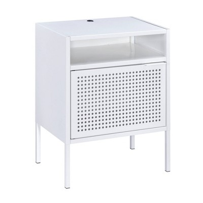 Gemma Nightstand with Usb Port White - Picket House Furnishings