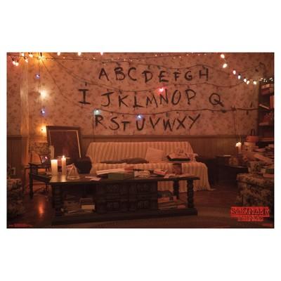 Stranger Things Alphabet Poster 34x22 - Trends International