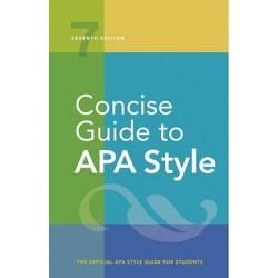 Concise Guide to APA Style - 7th Edition,Annotated by  American Psychological Association (Spiral Bound)