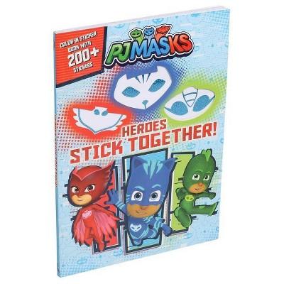 Pj Masks: Heroes Stick Together - (Coloring Books) (Paperback) : Target