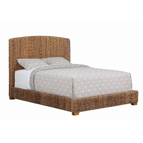 Lakeside Woven Banana Leaf Bed Brown Private Reserve