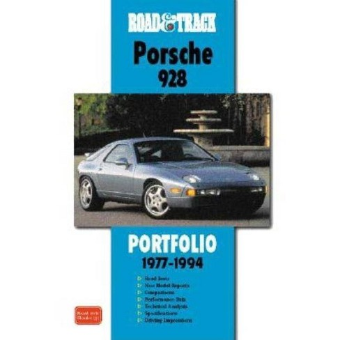 Road & Track on Porsche 928 Portfolio 1977-1994 - (Road & Track Series) by  R M Clarke (Paperback) - image 1 of 1