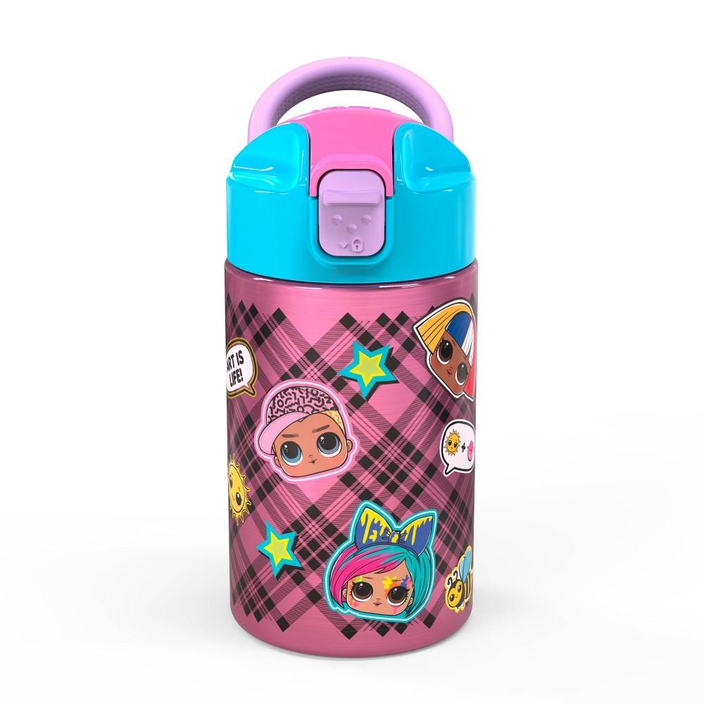 L O L Surprise 14oz Stainless Steel Valiant Water Bottle Zak Designs
