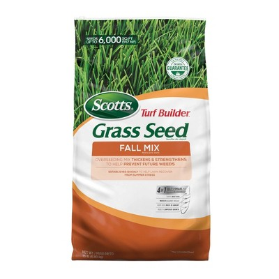 Scotts Turf Builder Fall Mix Grass Seeds -15lb