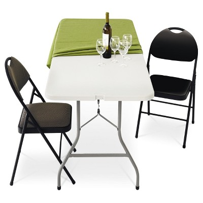 6u0027 Folding Banquet Table   Plastic Dev Group® : Target