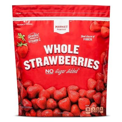 Whole Frozen Strawberries - 64oz - Market Pantry™