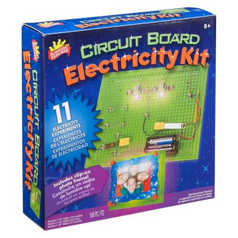 Scientific Explorer Electricity Kit Mini Lab - image 1 of 4
