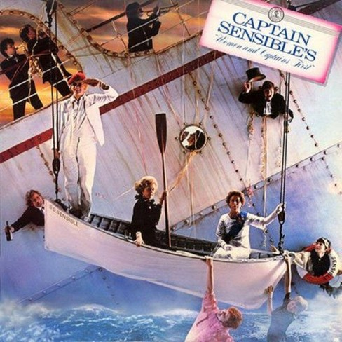 Captain Sensible - Women and Captains First (CD) - image 1 of 1