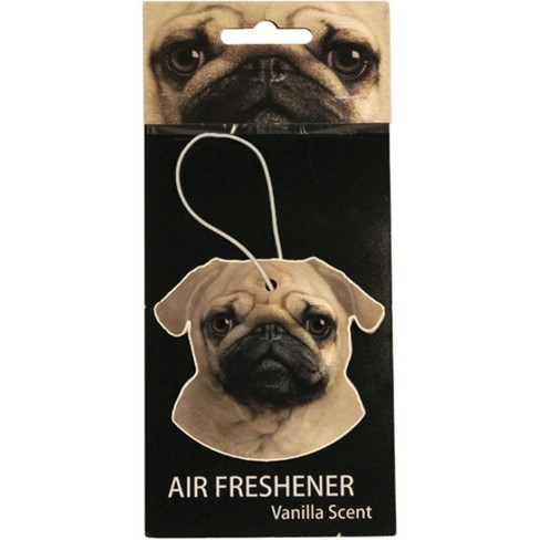 Just Funky Pug Vanilla Scented Hanging Air Freshener - image 1 of 2
