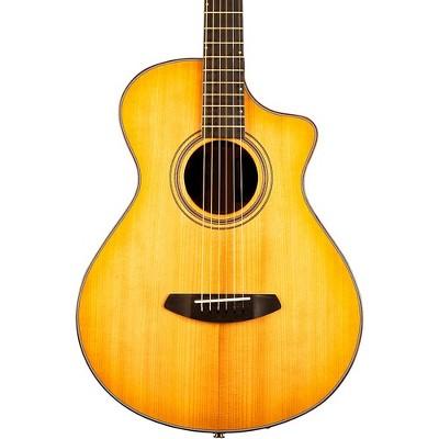 Breedlove Organic Collection Artista Concertina Cutaway CE Acoustic-Electric Guitar Natural Shadow Burst