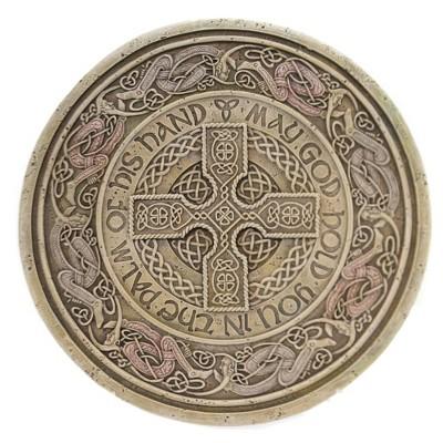 "Home & Garden 10.5"" Celtic Stepping Stone Irish Walk Sunshine Roman, Inc  -  Stepping Stones And Pathways"
