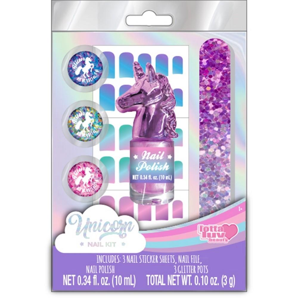 Image of Disney Unicorn Nail Kit, Multi-Colored