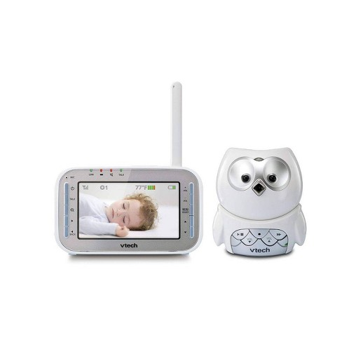 VTech VM345 Owl Video Baby Monitor with Automatic Infrared Night - image 1 of 3
