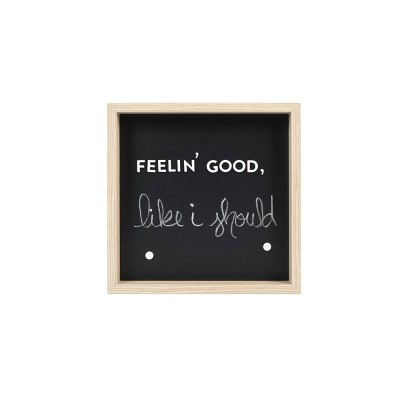 """12"""" x 12"""" Chalkboard and Letterboard - Room Essentials™"""