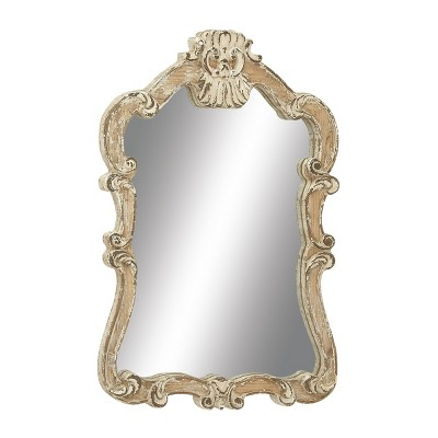 "39"" Traditional Wooden Victorian Wall Mirror - Olivia & May"