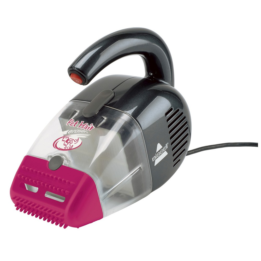 Image of BISSELL Pet Hair Eraser Corded Hand Vacuum - Magenta & Gray 33A1B, Gray Pink