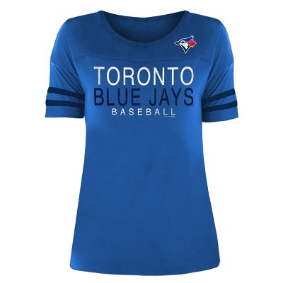 MLB Toronto Blue Jays Women's Poly Rayon T-Shirt
