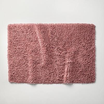 "24""x40"" Mélange Looped Bath Rug Rose - Casaluna™"