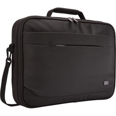 "Case Logic Advantage ADVB-116 BLACK Carrying Case (Briefcase) for 10"" to 16"" Notebook - Black - Polyester - Handle, Shoulder Strap, Luggage Strap"