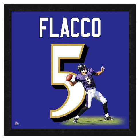 Baltimore Ravens Joe Flacco Framed Uniframe - image 1 of 3