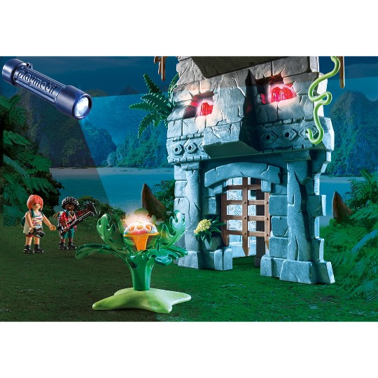 Playmobil Hidden Temple with T-Rex image number null