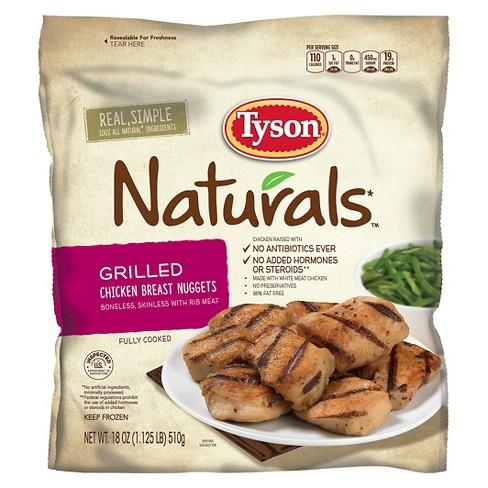 Tyson Naturals Grilled Frozen Chicken