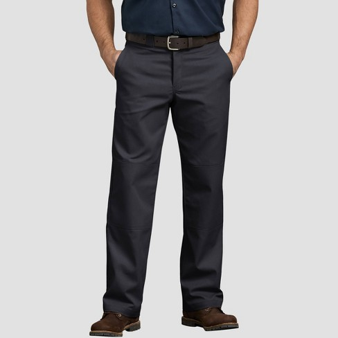 Dickies Men's Relaxed Fit Trousers - Black - image 1 of 2