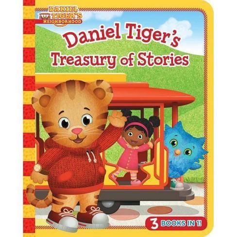 Daniel Tiger's Treasury of Stories - (Daniel Tiger's Neighborhood) (Board Book) - image 1 of 1