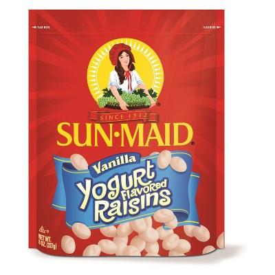 Dried Fruit & Raisins: Sun-Maid Vanilla Yogurt Raisins